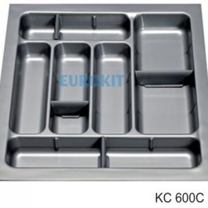 Khay chia thìa dĩa nhựa tổng hợp KC 600 C