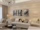Trang trí nội thất phòng khách bằng giấy dán tường
